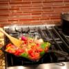 Kép 3/3 - Camp Chef négyzet alakú öntöttvas grill serpenyő