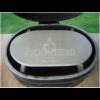 Kép 2/2 - Fredstone közepes méretű, ovális alakú pizzakő, Primo 300 1 db -hoz