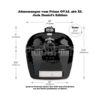 Kép 3/4 - Primo OVAL 400 XL Kerámia Grill Jack Daniel's Edition