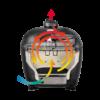 Kép 3/5 - Primo Oval 300 L kerámia grill deflektor kővel
