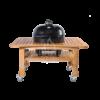 Kép 4/5 - Primo Oval 400 XL kerámia grill deflektor kővel