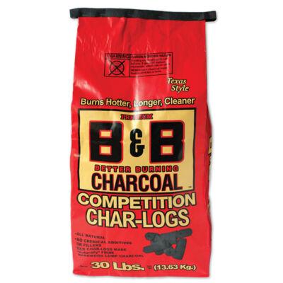 B&B Competition Char-Logs brikett 30Lb. / 13,61 Kg