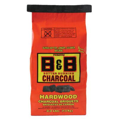 B&B Natural Keményfa Brikett 3,3 Lb. / 1,5 Kg