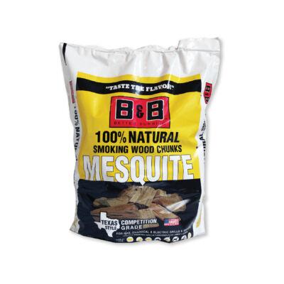 B&B Mesquite füstölőfa csonk 549 cu.in / kb. 9 liter