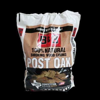 B&B Post Oak füstölőfa csonk 549 cu.in / kb. 9 liter