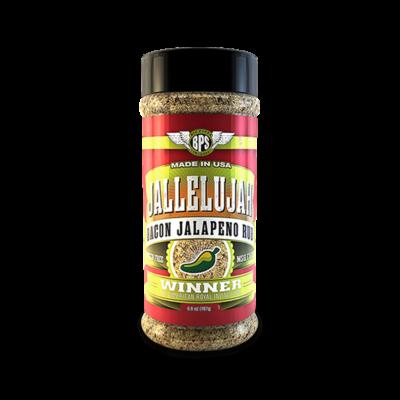 Big Poppa Smokers - Jallelujah Bacon Jalapeno fűszerkeverék 6,6oz-187gr