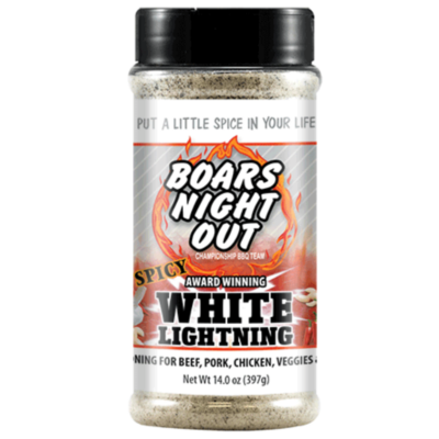 Boars Night Out - Boars Night Out Spicy White Lightning 397g-14oz