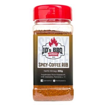 JD`s BBQ Hungary Spicy Coffee Rub 300 g szóródobozban