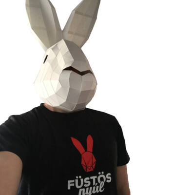 Füstös Nyúl T-shirt női XL