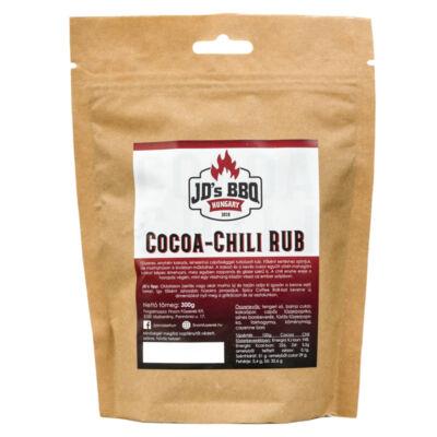 JD`s BBQ Hungary Cocoa Chili Rub 300 g visszazárható tasakban