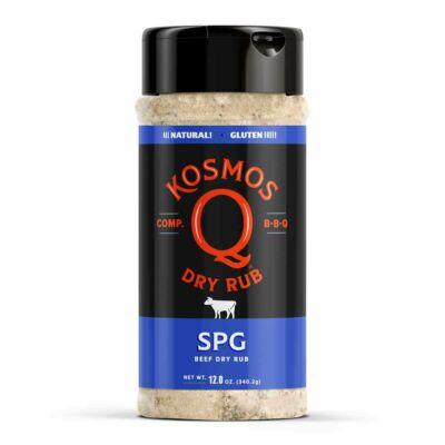 Kosmo`s Q - SPG / Só-Bors-Foghagyma fűszerkeverék 12oz