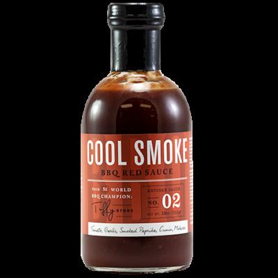 Tuffy Stone Cool Smoke - BBQ Red szósz 18oz