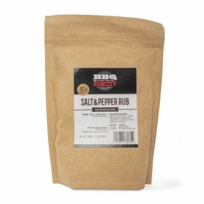 BBQ SunCity Salt&Pepper Rub 250 g visszazárható tasakban