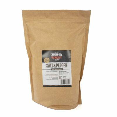 BBQ SunCity Salt&Pepper fűszerkeverék 1 kg visszazárható tasakban
