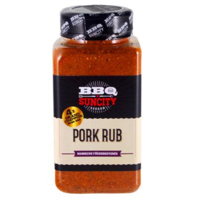 BBQ SunCity Pork fűszerkeverék 580 g szóródobozban