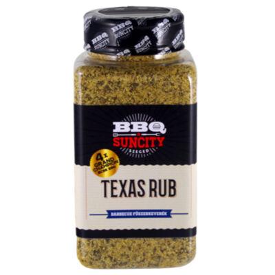 BBQ SunCity Texas fűszerkeverék 580 g szóródobozban