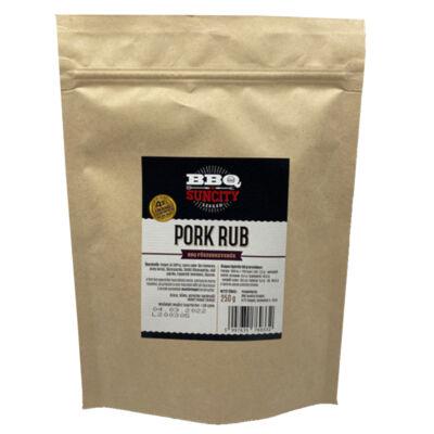 BBQ SunCity Pork Rub 250 g visszazárható tasakban