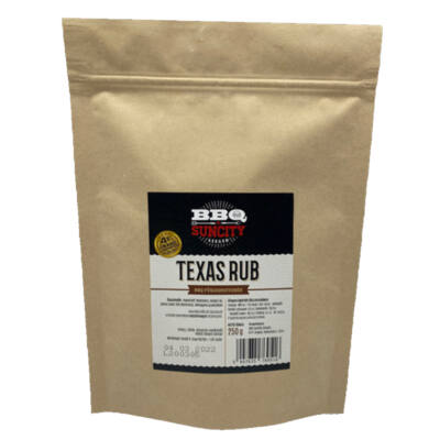 BBQ SunCity Texas fűszerkeverék 250 g visszazárható tasakban
