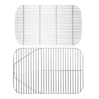 Rozsdamentes grillrács és faszén rács a PK Original Szériához