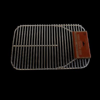 PK rozsdamentes grillrács fogantyúval