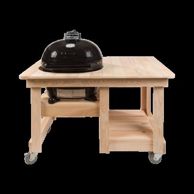 Ciprusfa Counter Top asztal OVAL 400 XL kerámia grillhez