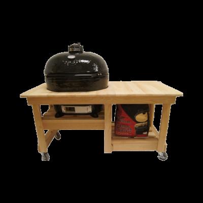 Ciprusfa Counter Top asztal Primo OVAL 200 Junior kerámia grillhez
