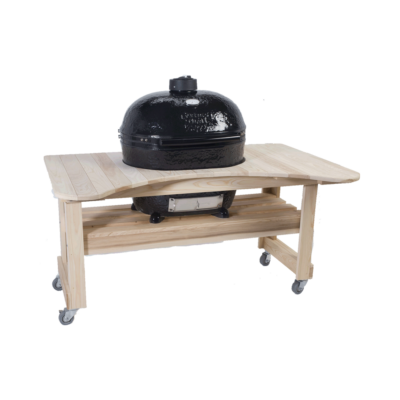 Ciprus asztal Primo Oval 400 XL kerámia grillhez