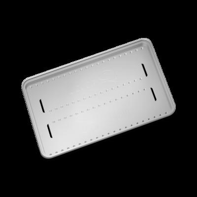Weber Alumínium terelőlap, Nagy, 4 db, a #6564 cikkszámú sütőrácshoz