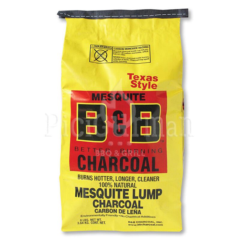 B&B Mesquite prémium faszén 8 Lb / 3,63 Kg
