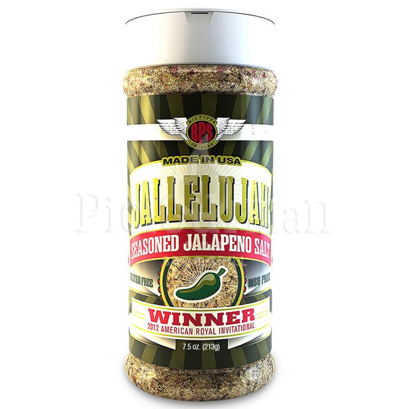 Big Poppa Smokers - Jallelujah Seasoned Jalapeno Só 7,5oz-213gr