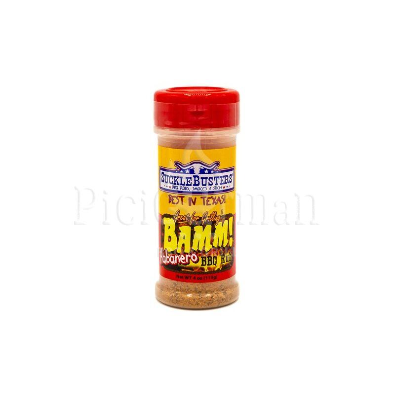 Sucklebusters - BAMM! Habanero BBQ fűszerkeverék 113g-4oz