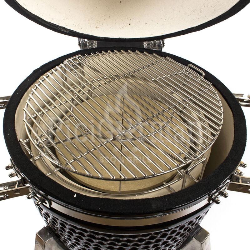 Osztott sütőtér KAMADO4U FAMILY grillhez