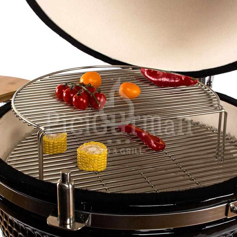 Magasított grillrács 47 cm-es Kamadohoz