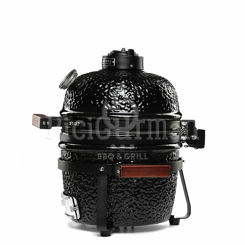KAMADO4U MINI D27 kerámia grill fekete asztali kivitel 2021 Model