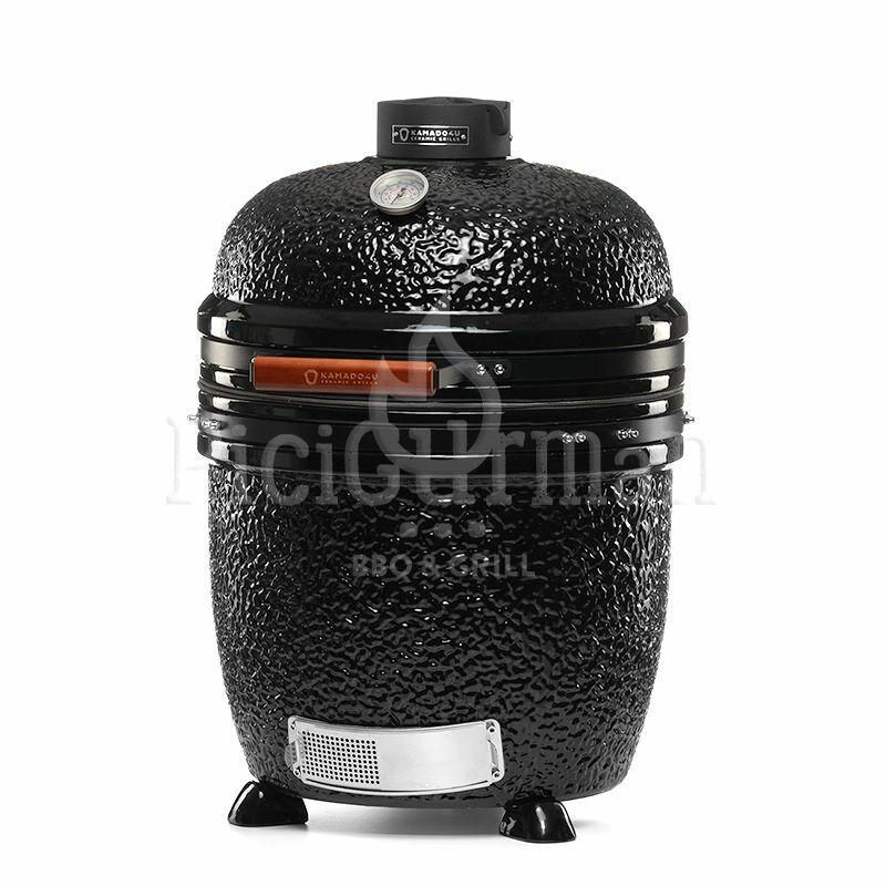 KAMADO4U MEATER D47 kerámia grill fekete pultba építhető 2021 Model