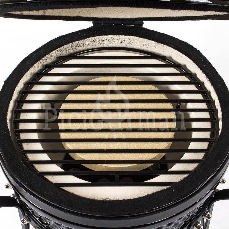 Sütő rács három lábbal 27 cm-es Kamadohoz