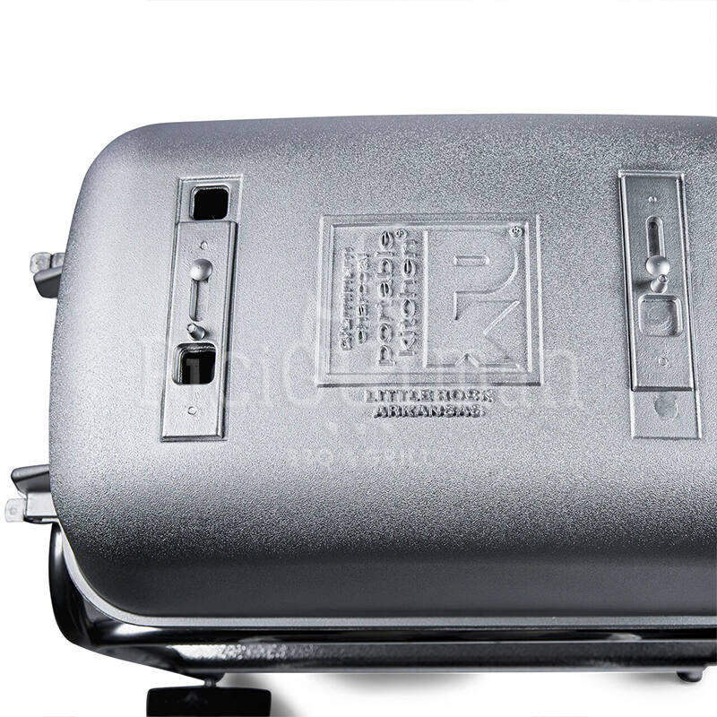 PK Grill & Smoker Original Ezüst